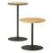 Tavolo da bistrot moderno / in acciaio / rotondo / professionale 4320 + 4322 BRUNE Sitzmöbel GmbH