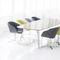 Tavolo da conferenza moderno / in legno / in acciaio / rettangolare 4520 GRAND by Eduard Euwens BRUNE Sitzmöbel GmbH