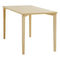 Tavolo da lavoro moderno / in faggio / rettangolare / per edifici pubblici 4190 AFTERNOON BRUNE Sitzmöbel GmbH