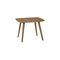 tavolo d'appoggio moderno / in legno / tondo / per ristorante