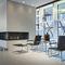 Tavolino estraibile design Bauhaus / in legno / in vetro / in metallo B 9 THONET