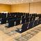 Sedia da conferenza girevole / con rotelle / impilabile / imbottito S 55 THONET