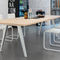 tavolo da conferenza moderno / in legno / in laminato / in alluminio