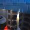 lampada su misura / da tavolo / moderna / in porcellana