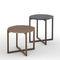 Tavolo d'appoggio moderno / in legno massiccio / in MDF laccato / in marmo LOTTA by Antoni Arola KENDO MOBILIARIO