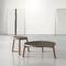 Tavolino basso moderno / in legno massiccio / in ceramica / rotondo VAN by Francesc Rifé KENDO MOBILIARIO