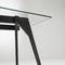 Tavolo da pranzo moderno / in legno massiccio / in cristallo / rettangolare GRUPA by Gabriel Teixidó KENDO MOBILIARIO