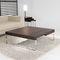 Tavolino basso moderno / in quercia / in MDF laccato / in metallo TEK by Vicente Gallega KENDO MOBILIARIO