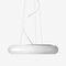 lampada a sospensione / moderna / in metallo / in vetro soffiato