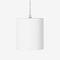 lampada a sospensione / moderna / in alluminio / in vetro acrilico