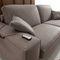 divano letto / moderno / in velluto / in pelle