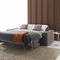 Divano letto / moderno / in velluto / in pelle ELEVEN : AUTOMATIC SOFA BED Divani Santambrogio
