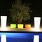 Vaso da giardino in polietilene / quadrato / luminoso ALL SO QUIET by Studio Paul Qui est Paul