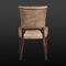 sedia classica / imbottita / in pelle