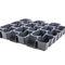 membrana drenante in polietilene ad alta densità HDPE / di stoccaggio dell'acqua / per tetto vegetale