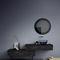 specchio a muro / moderno / rettangolare / tondo