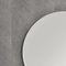 specchio a muro / luminoso a LED / moderno / tondo