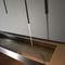 lavabo in acciaio inossidabile / sospeso / rettangolare / moderno