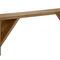 panca da giardino / moderna / in legno