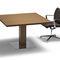 Tavolo da riunione moderno / in wengé / quadrato ARCHE Bralco