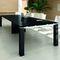 Tavolo d'appoggio moderno / impiallacciato in legno / rettangolare / 100% riciclabile JET EVO Bralco