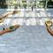 Panca pubblica / design originale / in legno / in metallo BOTANIC TWIST Tolerie Forezienne