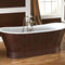 vasca da bagno da appoggio / ovale / in ghisa