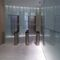 pannello in composito in vetro / in acciaio / per parete / da parete