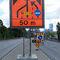 pannello segnaletico stradale