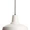lampada a sospensione / in stile industriale / in alluminio / fatta a mano