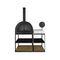 barbecue a legna / da appoggio / in metallo
