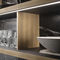 cucina moderna / in legno / in pietra / in metallo