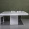 tavolo moderno / in legno laccato / in faggio / quadrato