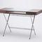 scrivania impiallacciata in legno / in MDF / in metallo / in vetro temprato