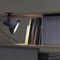 lampada da tavolo / design originale / in alluminio / in vetro