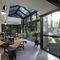 Tettoia per terrazzo / in alluminio CLIMAX® AG PLASTICS