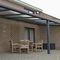 Tettoia per terrazzo / in alluminio CLIMAX® PANORAMA AG PLASTICS