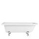 vasca da bagno su piedi / ovale / in acrilico