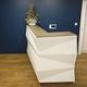 banco reception modulare / in legno / in metallo