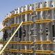 cassaforma modulare / circolare / in acciaio galvanizzato / per muro