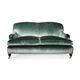 divano in stile francese / per zona reception / in velluto / professionale