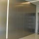porta da interni / per cabina armadio / battente / in alluminio