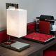 lampada da tavolo / moderna / in tessuto / da interno