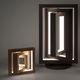 lampada portatile / design originale / in legno / da interno