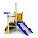 gioco per parchi in PEHD / in acciaio inox / in acciaio galvanizzato / per parco giochi