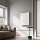 radiatore ad infrarossi / con rivestimento in vetro temperato / moderno / rettangolare