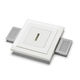 downlight da incasso / LED / quadrato / per uso residenziale