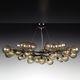 lampadario design minimalista / in vetro di Murano / LED / fatto a mano