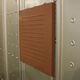 rivestimento di facciata in acciaio inossidabile / termolaccato / sbalzato / a cassetta