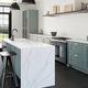 piano di lavoro in Silestone® / da cucina / bianco
